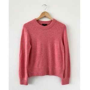 J. Crew • Merino Wool Alpaca Blend Sweater Coral